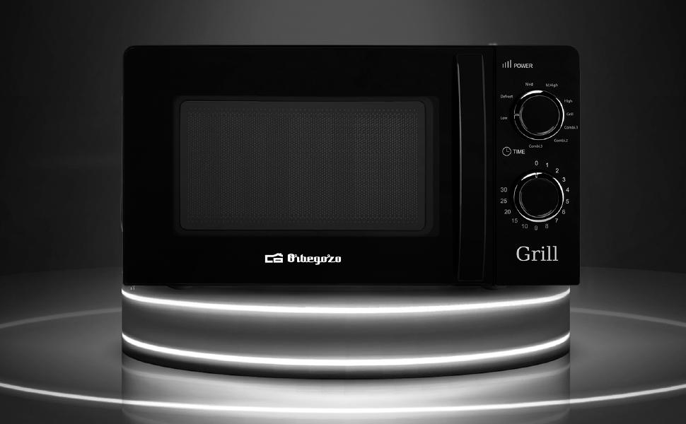 Orbegozo MIG 2131 - Microondas con grill con 20 litros de ...