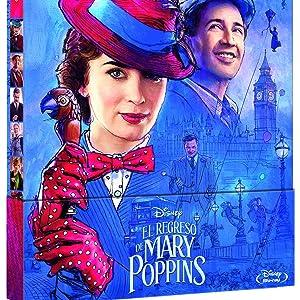 El Regreso De Mary Poppins Edición Metálica [Blu-ray