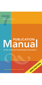 Publication Style Manual APA 7th Edition book cover