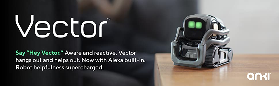Vector Robot Anki Amazon Alexa