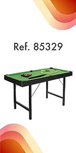 ColorBaby - Mesa de billar americano plegable CBgames (85329 ...