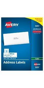 avery address lables