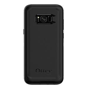 OtterBox Defender Series SCREENLESS Edition for Samsung Galaxy S8 - Frustration Free Packaging - Black