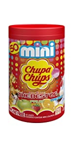 Chupa Chups Lollipop Lolly Sweet Treat Share Party Bag Fruity Flavour