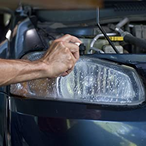 SYLVANIA - Headlight Restoration Kit - 3 Easy Steps to Restore Sun Damaged  Headlights With Exclusive UV Block Clear Coat, Light Output and Beam