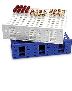 Mega Rack Test Tube Heathrow Scientific large polypropylene transport storage lab supply equipment