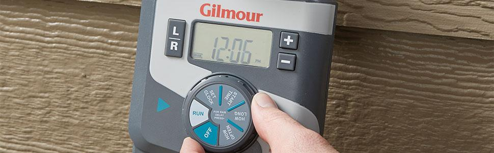 Amazon.com : Gilmour Dual Outlet Electronic Water Timer