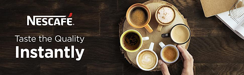 Nescafe Taste the Quality Instantly
