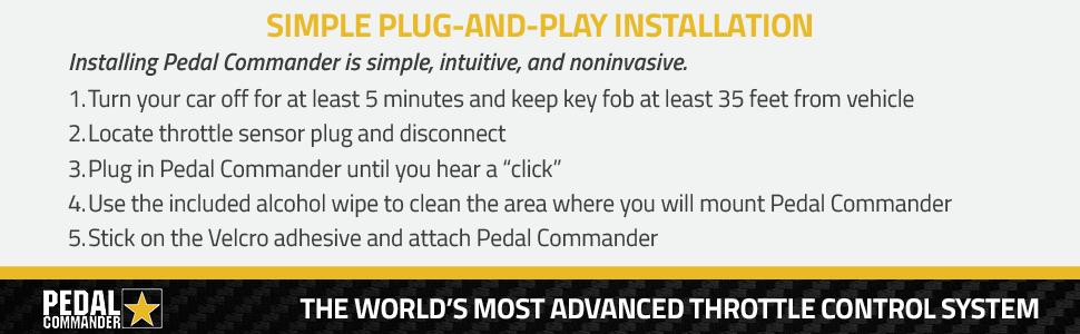 pedal commander bluetooth throttle response controller pc31 dodge challenger ram 1500 5.7 peddle