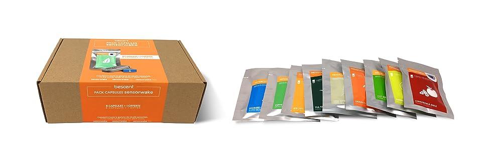 pack capsule 9 parfums