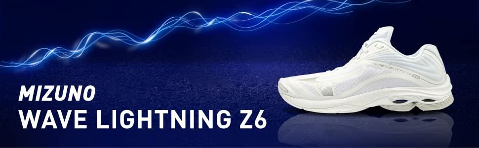 mizuno volleyball, lightning z6, court shoes