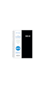 blue sky, enterprise collection, planner, weekly, monthly, 2021-22, 5x8, professional designs