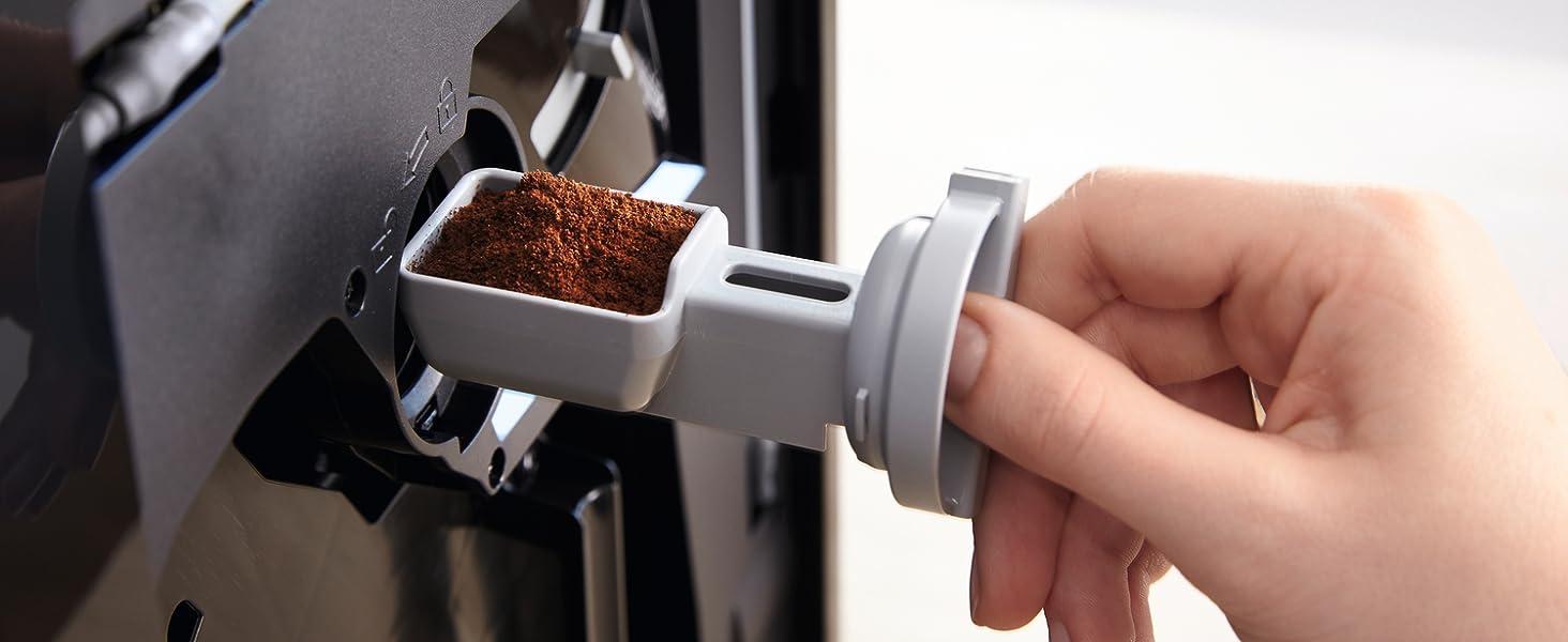 Miele, máy pha cà phê độc lập, bột cà phê