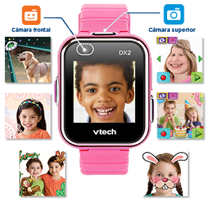 VTech 193857 Kidizoom Smart Watch DX2 - Reloj inteligente para ...