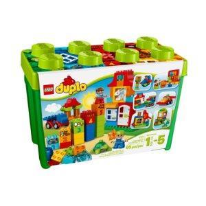 LEGO DUPLO - Caja divertida Deluxe, multicolor (10580) , Modelos/colores Surtidos, 1 Unidad: Amazon.es: Juguetes y juegos