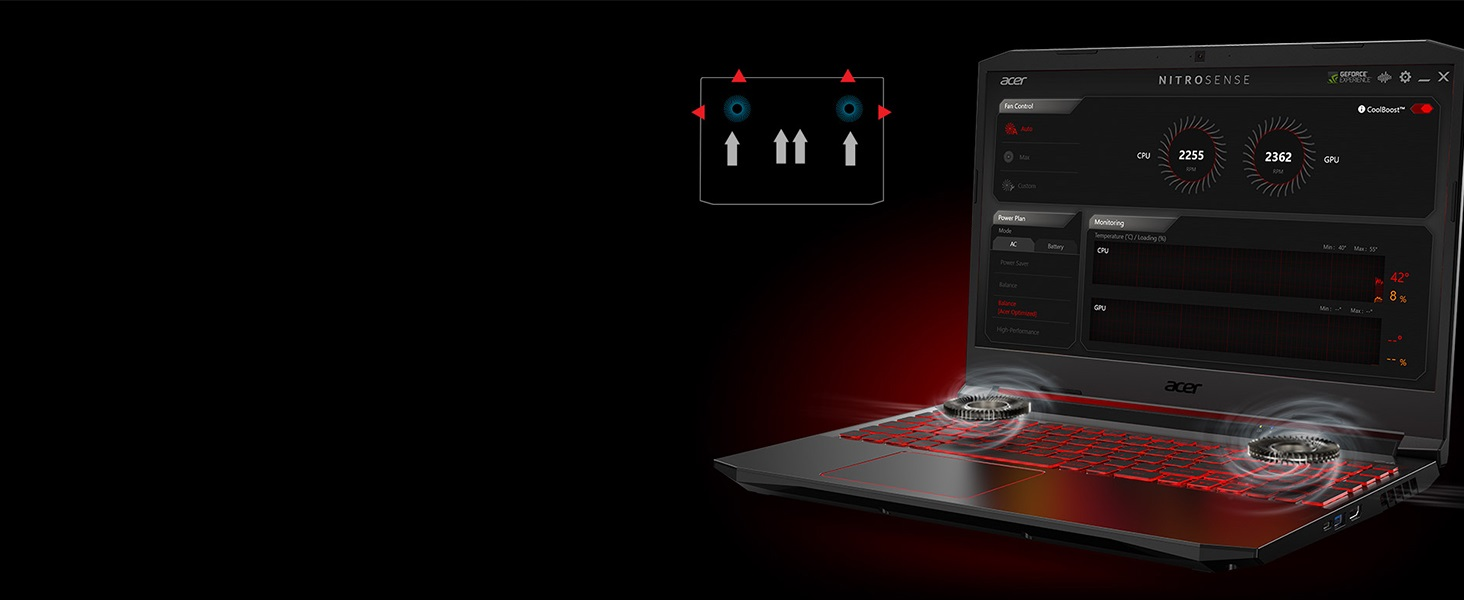 Acer Nitro AN515-55 Amazon Choice NVIDIA GTX Gaming Intel 10th Gen i5-10300H MSI ROG ASUS