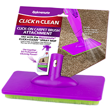 Carpet Cleaning Brush, Carpet Brush, Long Handle Carpet Brush, Click n Clean Attachment