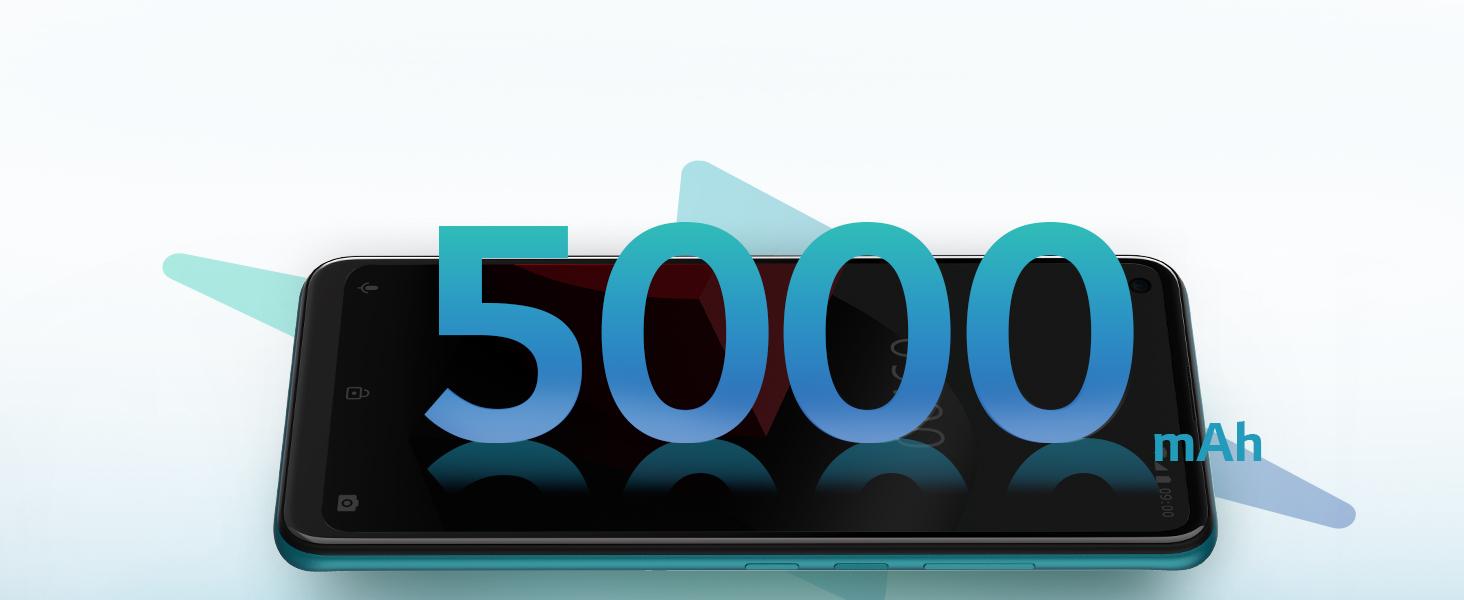 long lasting 5000mAH battery