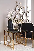 Home, Decor, Living room, chair, vase, figurine, mirror, glam, shabby chic, jewelry box, bedroom