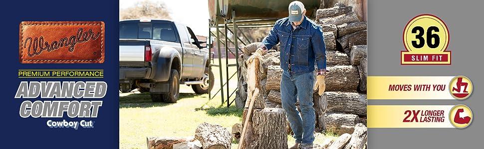 452d76fc wrangler, wrangler jeans, wrangler advanced comfort jeans, cowboy jeans, slim  fit jeans