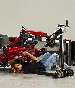Amazon.com : MoJack XT - Residential Riding Lawn Mower Lift, 500lb Lifting Capacity, Fits Most