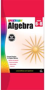algebra workbook grades 6-8