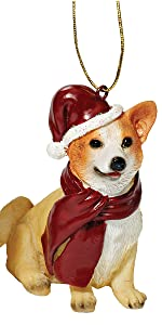 Christmas Ornaments - Xmas Welsh Corgi Holiday Dog Ornaments