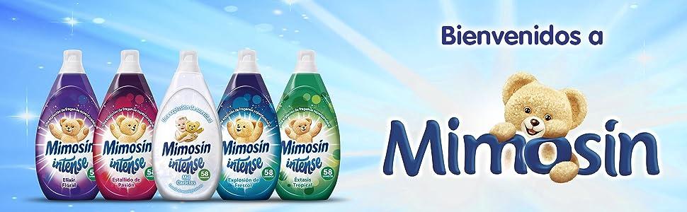 Mimosín suavizante detergente ropa lavado
