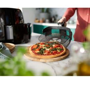Philips Airfryer XXL Pizzameesterset HD9953/00