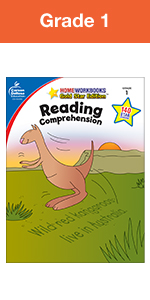 reading comprehension workbook grade 1
