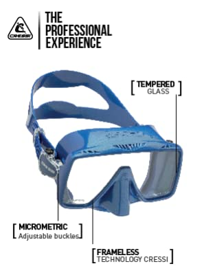 SNORKELING MASK, SCUBA DIVING MASK, CRESSI GEAR, SCUBA GEAR, SNORKELING GEAR, DIVE GEAR, CRESSI MASK