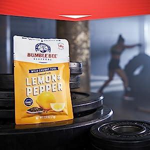 Bumble Bee Lemon Pepper Pouch