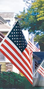 Annin Annin Flagmakers American US spinning pole set