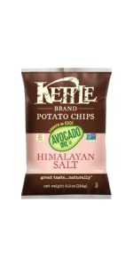 kettle chips, chips, avocado oil chips, healthy chips