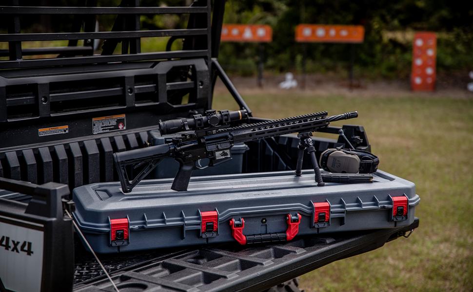 Plano 42 inch Rustrictor waterproof dust proof case, hard side gun protection, skb pelican cases