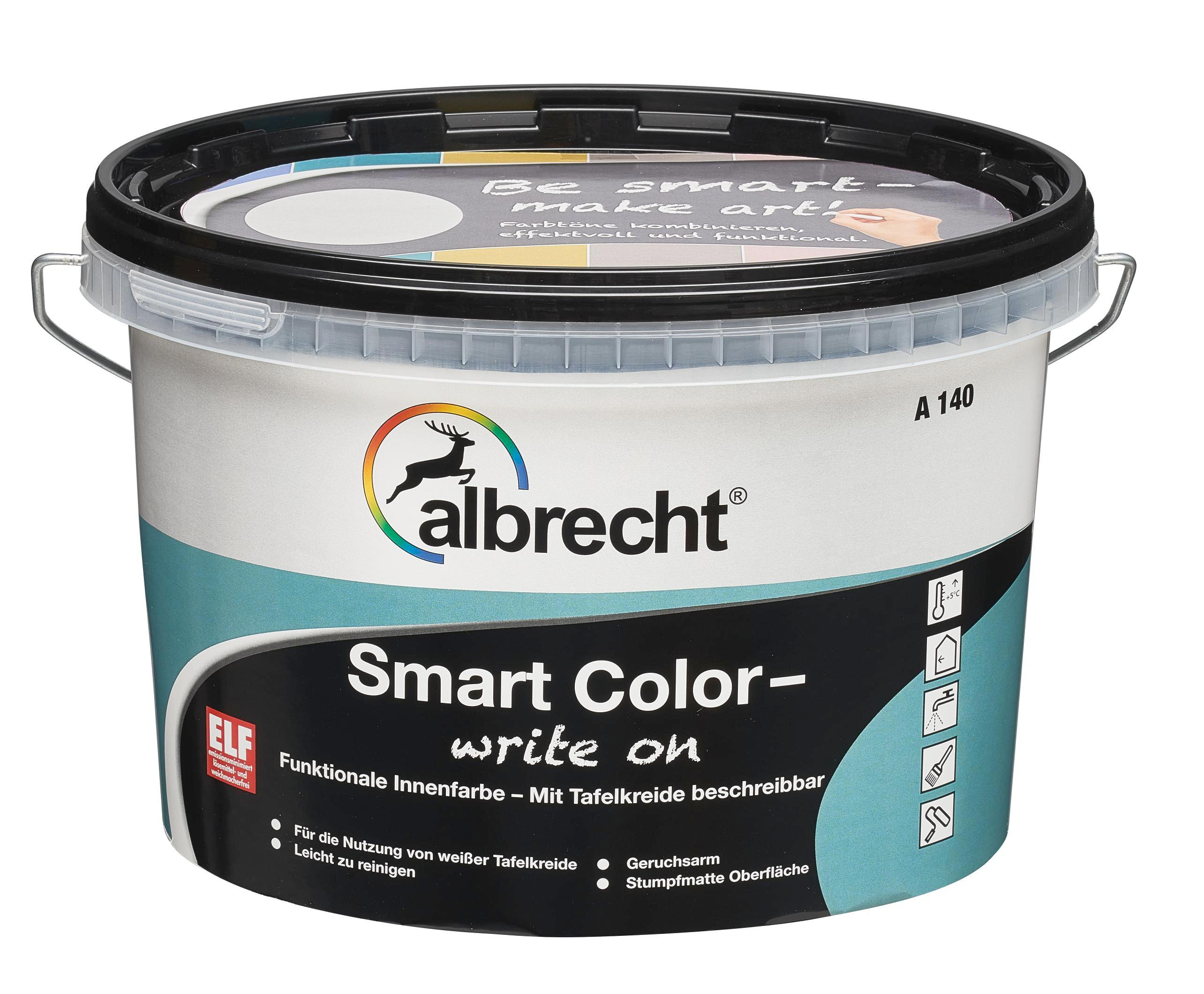 albrecht smart color write on 2 5l tafelfarbe 1 st ck altros 3400101510223502500 amazon. Black Bedroom Furniture Sets. Home Design Ideas