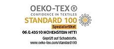 Öko-Text zertifiziertes Heizissen SHK 18