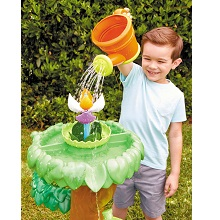 little tikes magic flower; island wavemaker; flower water table; summer water tables; summer toys
