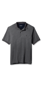 solid polo knit performance short sleeve deck shirt classic casual cotton polyester sport layer