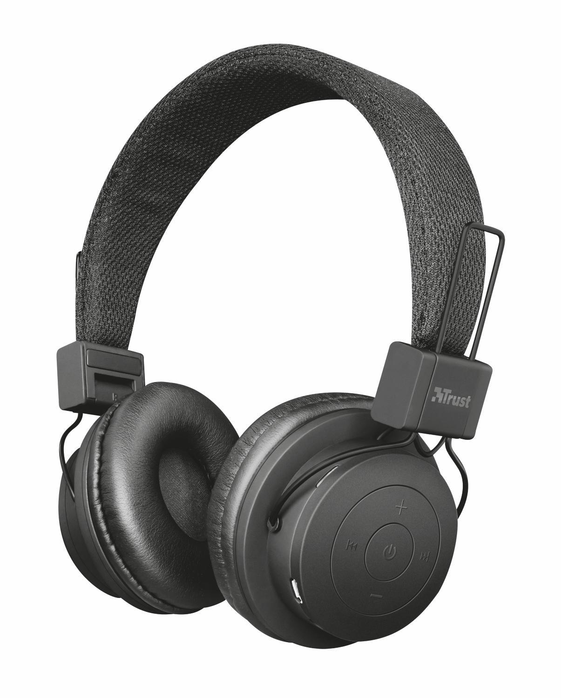 Trust Urban Leva. Auriculares inalámbricos Bluetooth