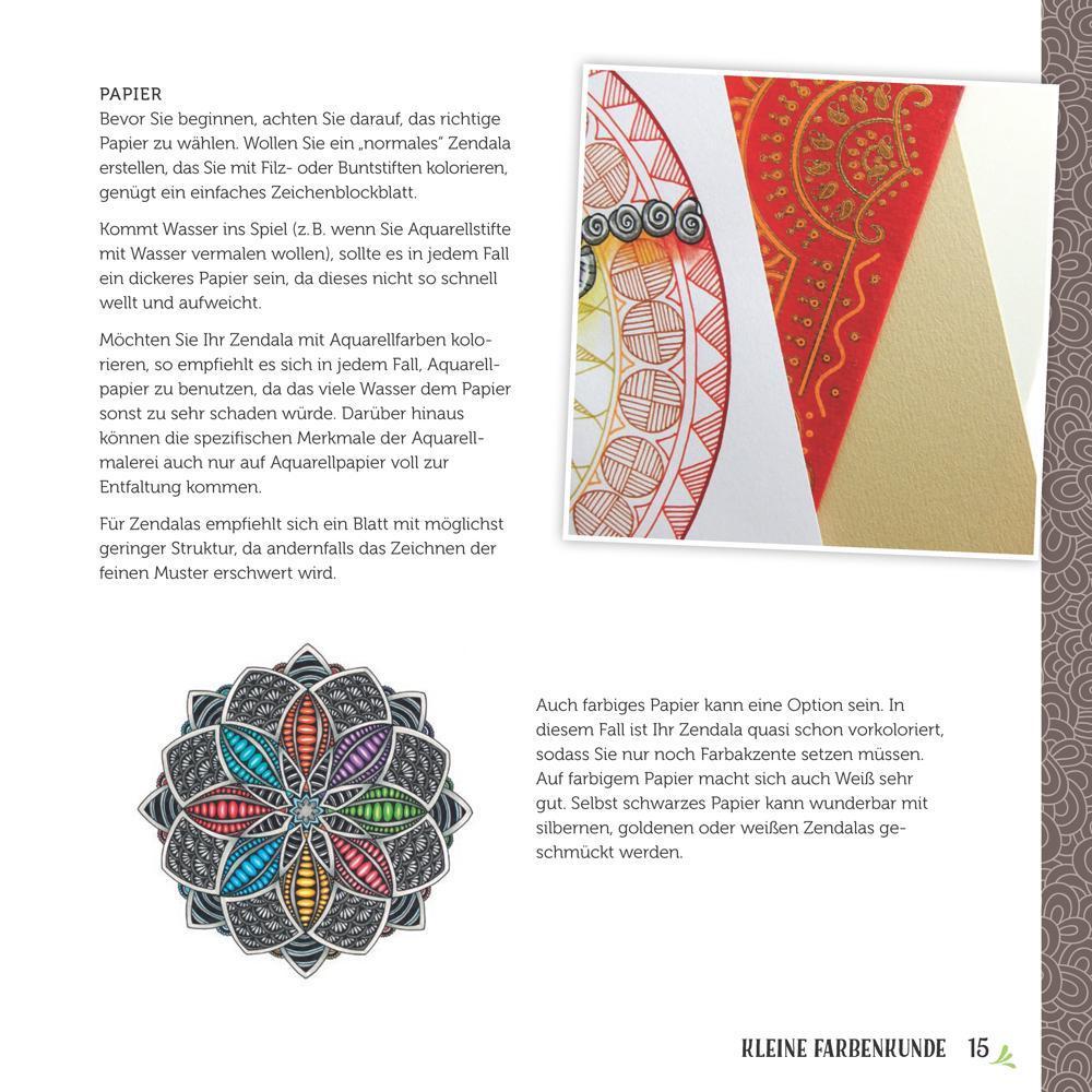 Mandalas Selber Zeichnen Zendalas Für Einsteiger Amazonde Mia