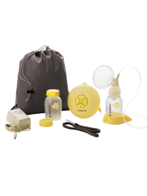 swing breast pump, breastpump, portable, mobile, single electric