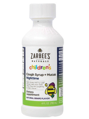 Amazon Com Zarbee S Naturals Children S Cough Syrup