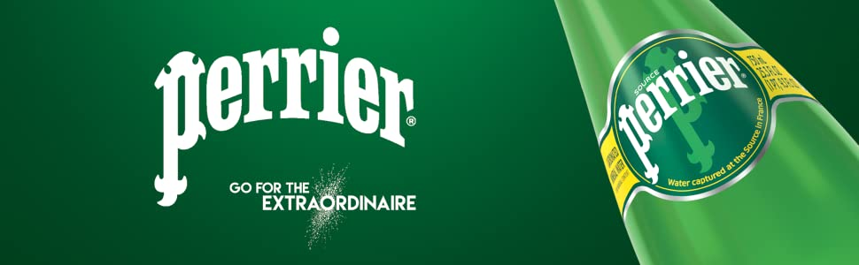 Perrier Sparkling Natural Mineral Water Go For The Extraordinaire