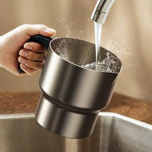 caf/é caf/é batidora de Huevos Utensilios de Cocina de Mano batidora Acero Inoxidable Monllack Herramienta de Espuma Espuma Bebida Leche batidora el/éctrica pl/ástico
