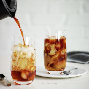Breville Cold Coffee, Pour Over setting, My brew setting, Over Ice
