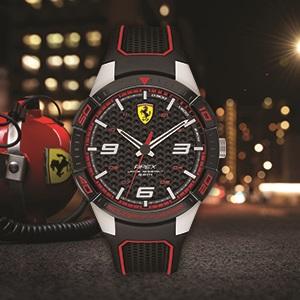 Ferrari, SF, Scuderia Ferrari, watches, mens, racetrack, track, race,
