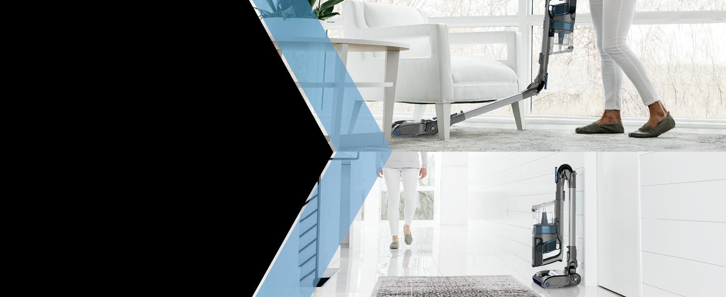 flexible reach, compact storage, compact vacuum, reach under furniture, under furniture cleaning