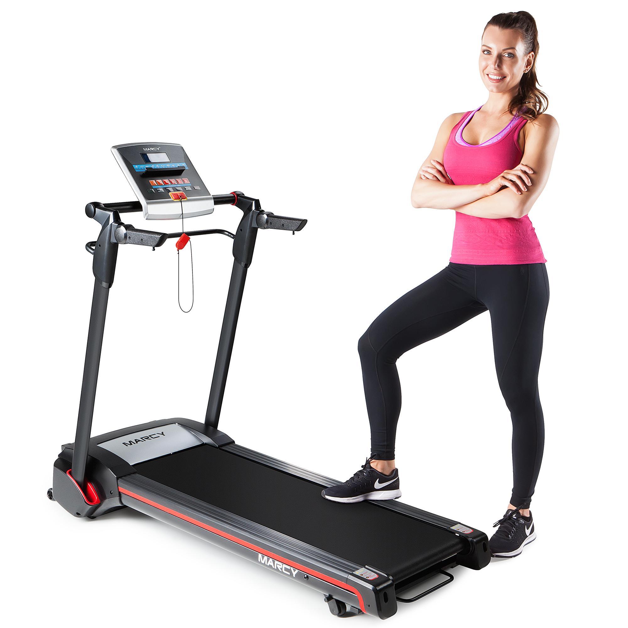 Goplus Treadmill Desk: Amazon.com : Marcy Easy Folding Motorized Treadmill/Pre
