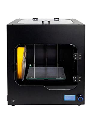 Monoprice Maker Ultimate 2 3D Printer - with (200 x 150 x 150 mm) Heated and Removable Glass Built Plate, Auto Bed Leveling, Internal Lighting & ...